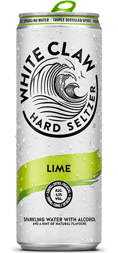 White Claw Hard Seltzer in flavors Lime